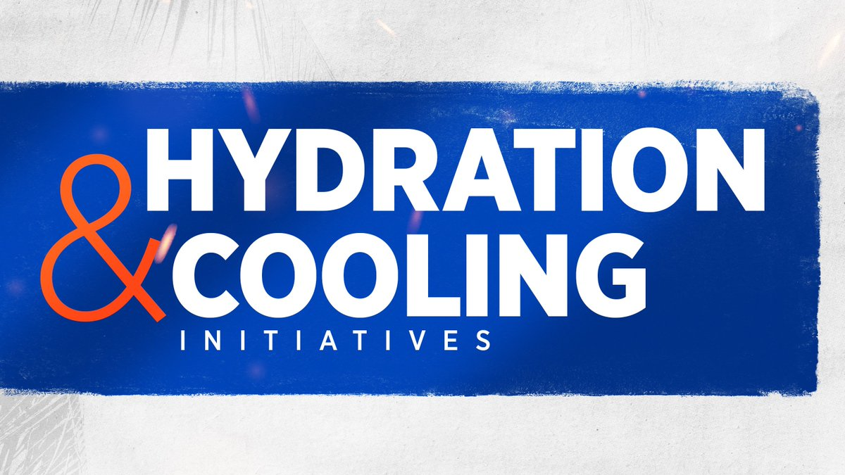 Its important to stay COOL & HYDRATE prior to Saturdays game vs. Tennessee! 🎫: bit.ly/2kJnApa #TENNvsUF #GoGators