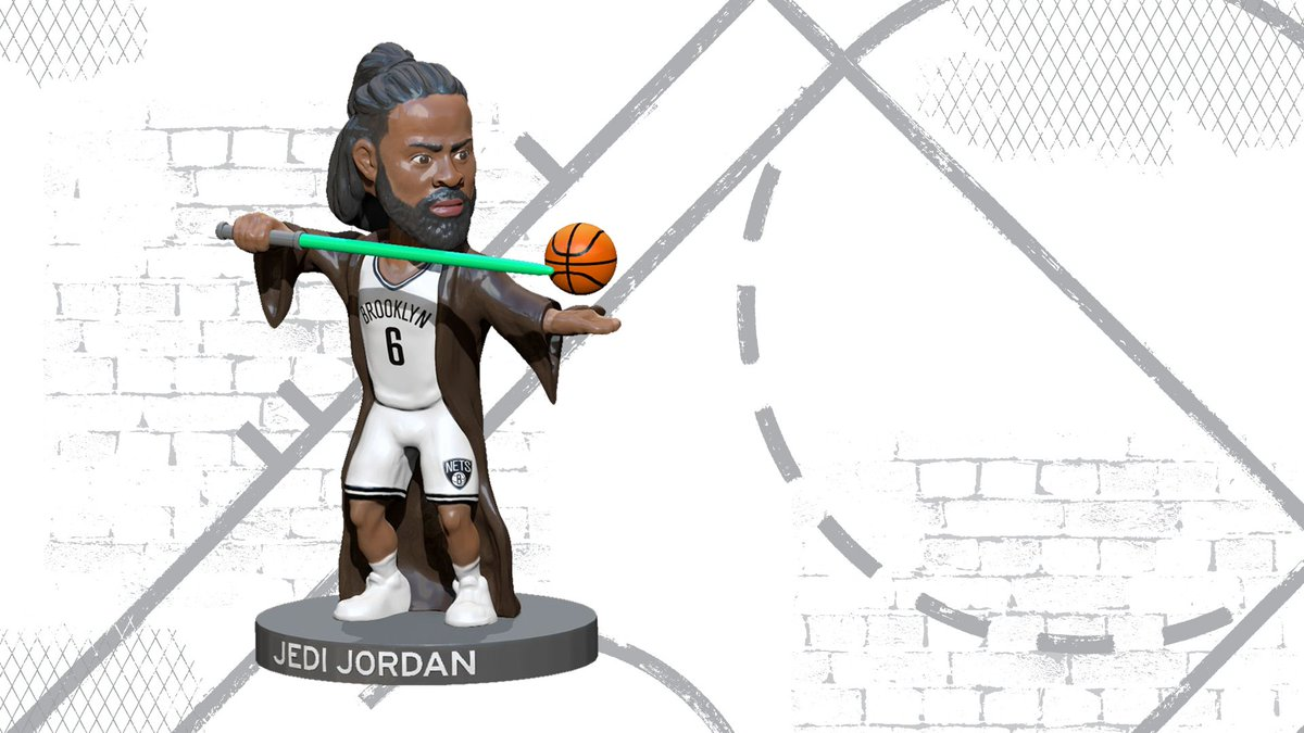 This *is* the bobblehead you're looking for.   Get to Barclays Center on Saturday Dec. 21 (hopefully in 12 parsecs) vs. the Hawks for DeAndre Jordan Star Wars Bobblehead night!   https://www.nba.com/nets/schedule?games=promo …