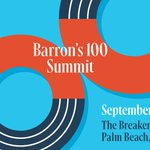 Image for the Tweet beginning: Advisors: Attending the #Barrons100 Summit