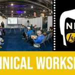 Trade show reminder: Check out the technical workshops on the floor, where exhibitors will bring you info on industry trends, process improvements and major innovations #NECA19