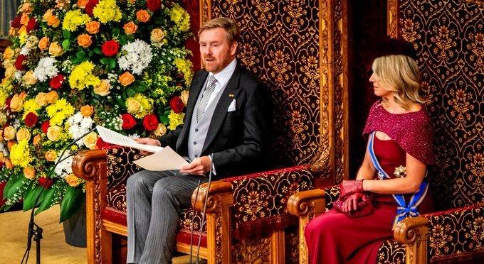 Troonrede op Prinsjesdag 2019 https://t.co/lPFieRsO4B https://t.co/z0eJrPJWuZ