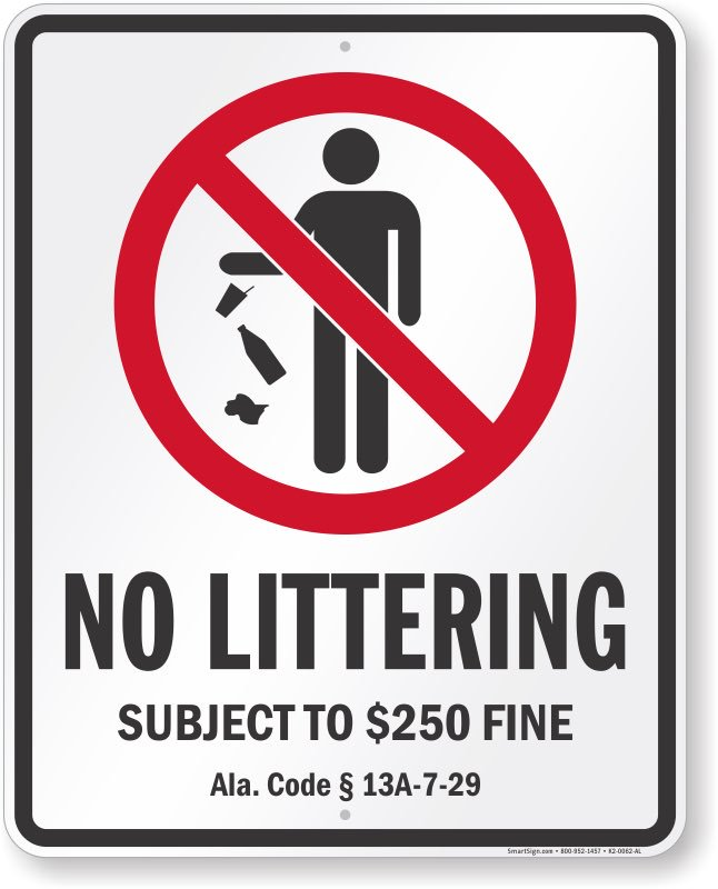 Considering Climate Change is one of the greatest threats to almost every living thing on earth, shouldn't littering be a bigger offense than a fine of $250.00? How about a year in jail and 5 years trash detail. #RepublicansLitterDemocratsDont