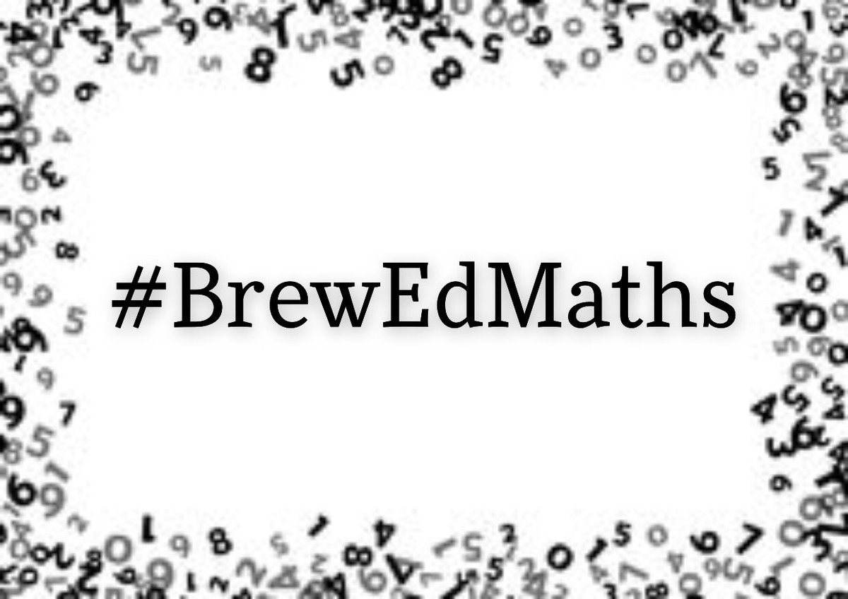 I can't even explain how exciting I am about the #BrewEdMaths line up. It is properly banging.