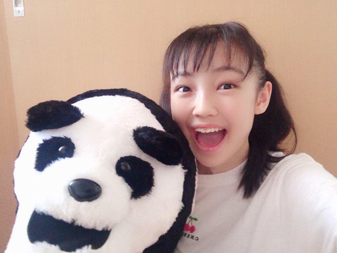 【15期 Blog】 No.67 じゃーん!! パンダさん〜 山﨑愛生: 皆さん、こんにちは!モーニング娘。'19…  #morningmusume19