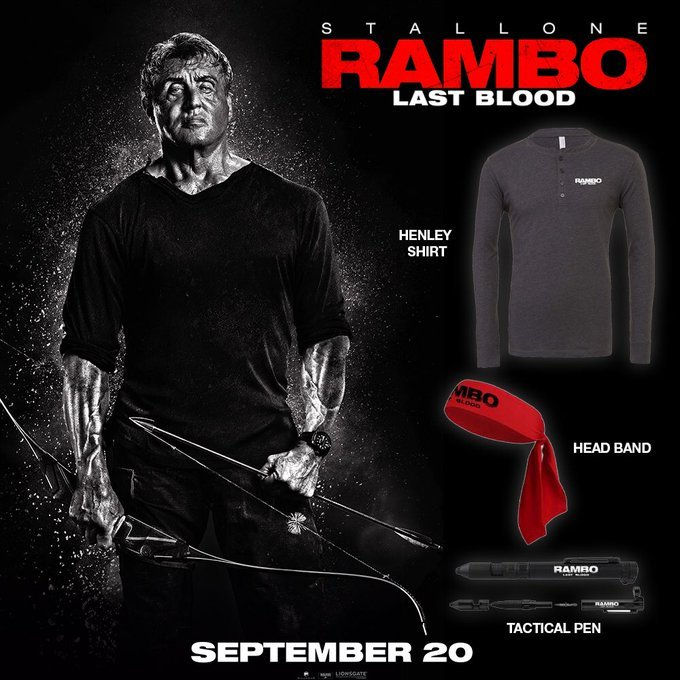We have partnered with the awesome team over at @4DX_USA to offer 3 #RamboLastBlood prize packs To Enter Follow @GeekVibesNation Retweet and Tag at least one friend Comment your favorite Rambo moment Winner chosen Friday 9/20