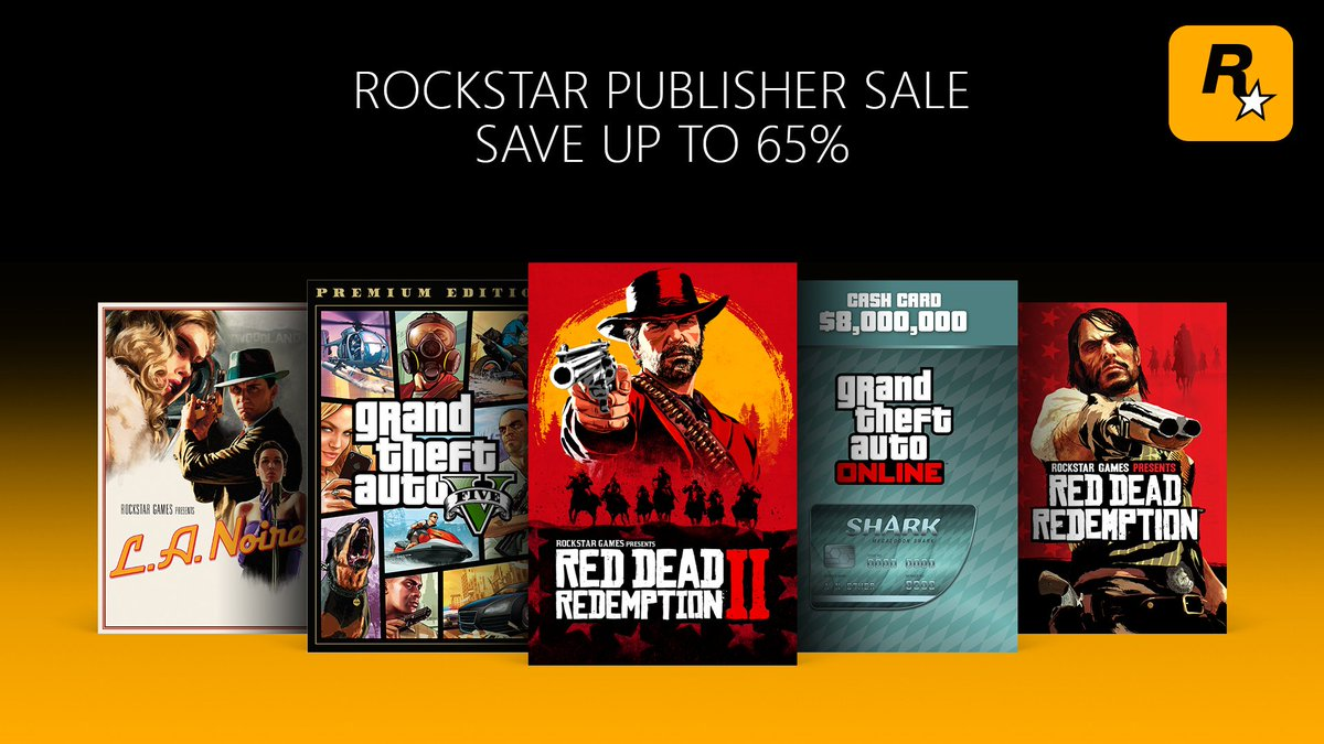 From the open plains of Red Dead Redemption 2 to the sun-soaked metropolis of Grand Theft Auto V, there's no shortage of worlds to explore with the Rockstar Games Publisher Sale.Save up to 65%: https://xbx.lv/2lVrdst