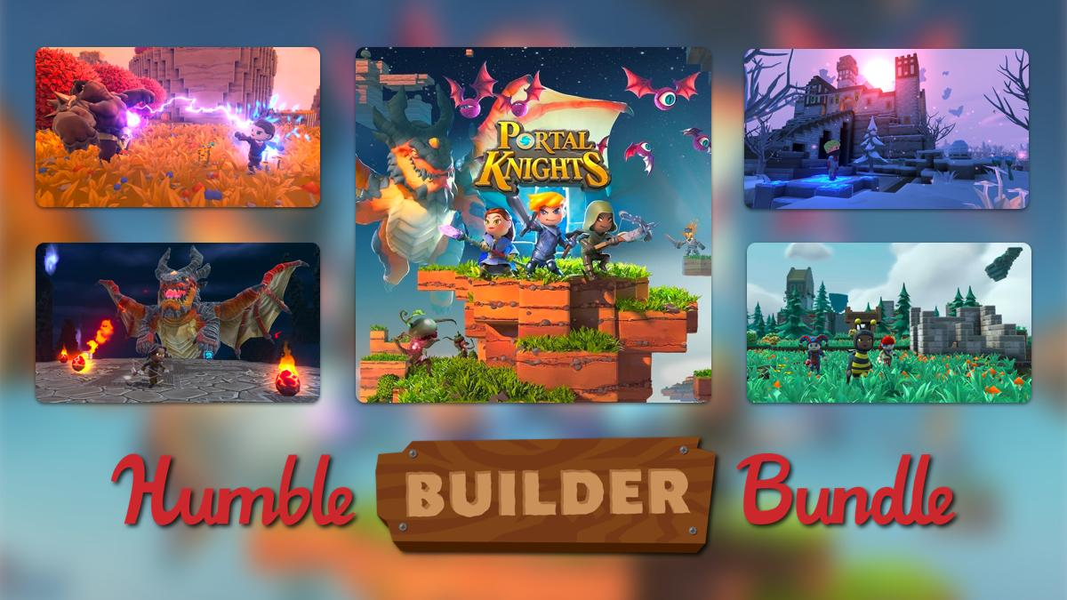 Grab your hammer and nails cause we're bringing you a bundle full of building games! 🛠️ Get to building with games like Portal Knights, Staxel, Bridge Constructor Portal, and more. https://t.co/0xo6Wf2zbT https://t.co/Fg251nv43K