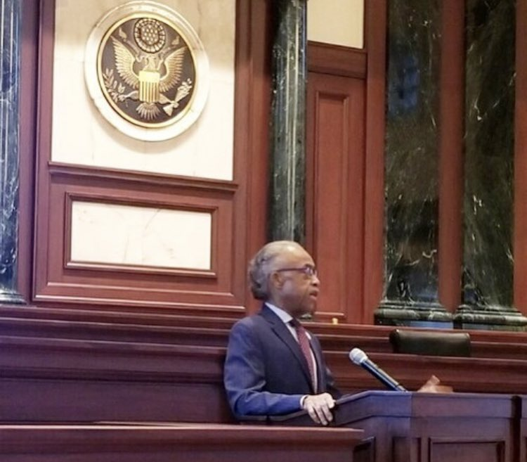 Speaking for the Award ceremony for Congressman Lewis. https://t.co/TP439eUsLY