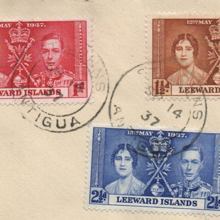 Anyone know why there might be an Antigua postmark on a Leeward Islands cover? #philately #postmarks<br>http://pic.twitter.com/OZd5LZUixv