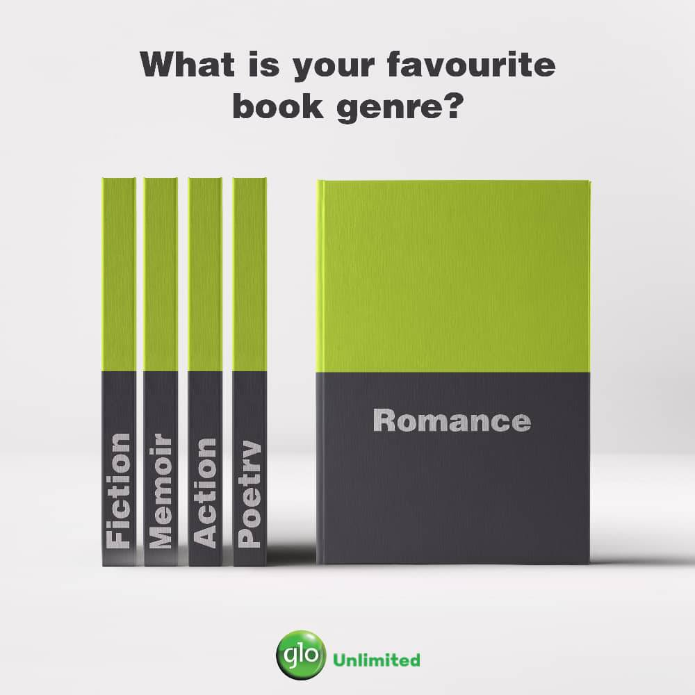 From the thrill of action, the warmth of romance, to the captivating journey of a memoir and so much more, books are simply one of the greatest gifts to humanity. Which is your favourite genre? #GloReads<br>http://pic.twitter.com/T9Ub5qKrEv