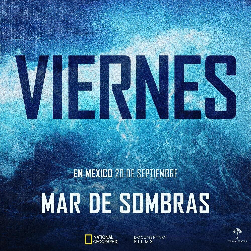 Este viernes sale en México Mar de Sombras. Hay que verla. Va mucho más allá de la vaquita marina. #MardeSombras #SeaofShadows