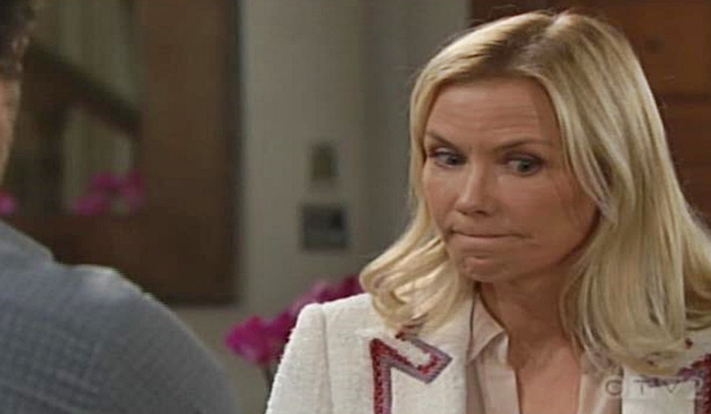 """SheKnows' Soaps on Twitter: """"Tuesday's #BoldAndTheBeautiful: Brooke has some questions and Shauna glows while telling Flo about her night with Ridge. Read the recap here: https://t.co/pKRtXSsdlu… https://t.co/pZZVkDKGJY"""""""