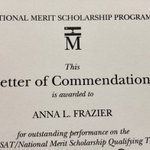 Image for the Tweet beginning: The National Merit Scholarship Program