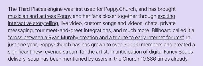 + 🥣 + fancysoups.com/news/2-soup-is… // 🌸🍷🌸 poppy.church