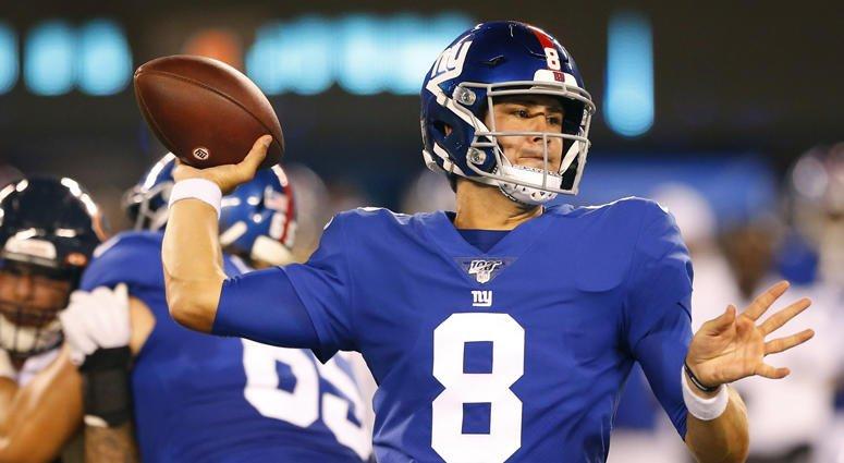 BREAKING: #NYGiants name Daniel Jones starting quarterback.  http:// bit.ly/302kAYx    <br>http://pic.twitter.com/im2yA4xkLO