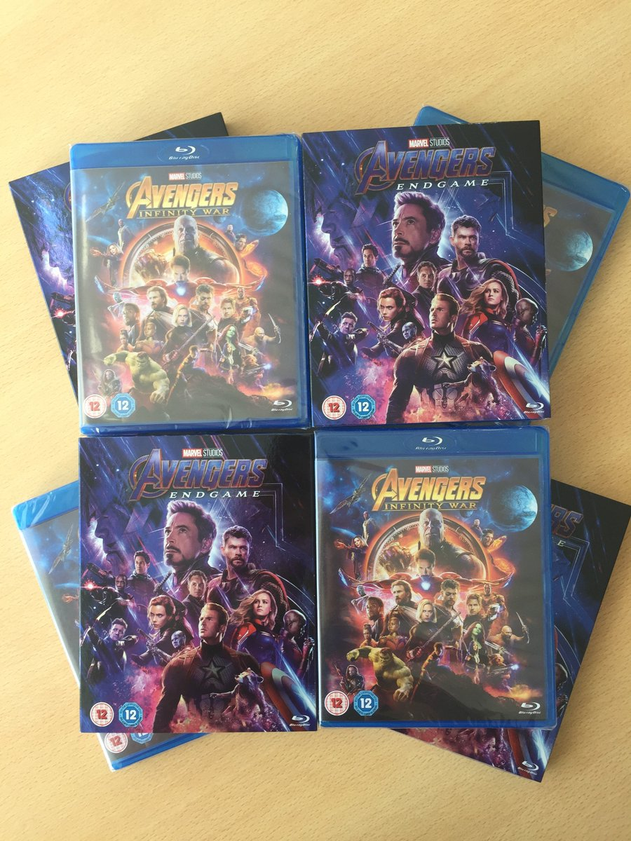 Ready for an evening of action?  We're giving you the chance to take home #AvengersEndgame  and #AvengersInfinityWar on Blu-ray. RT + Follow for your chance to win! #WinItWednesday @MarvelUK T&Cs:  http:// bit.ly/2kOejMB    <br>http://pic.twitter.com/8oB5Nb0OFK