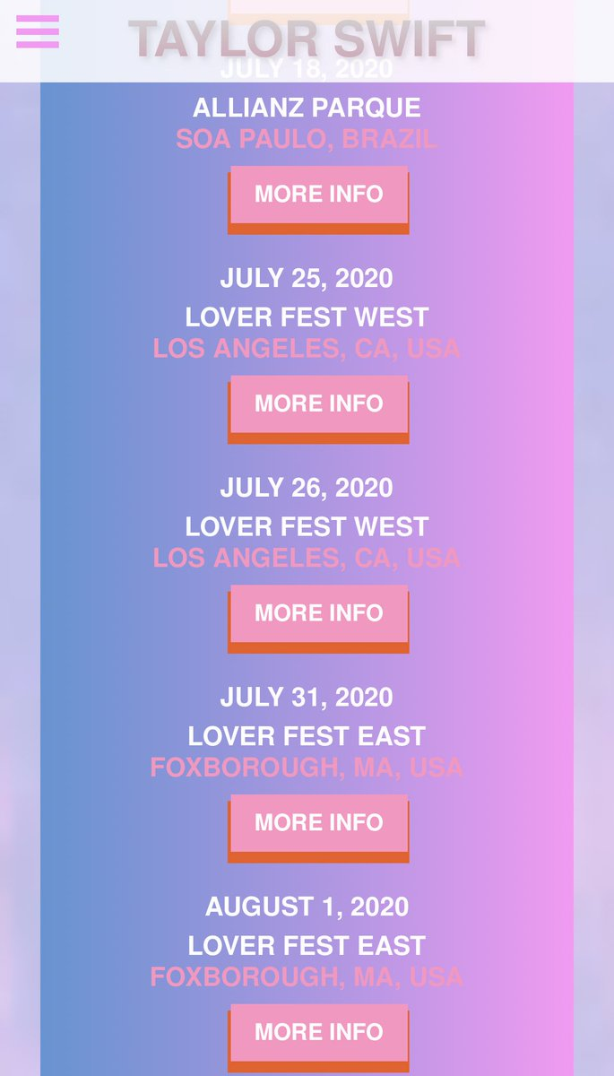 Events In Massachusetts August 25 2020.Taylor Swift Updates On Twitter Tour Taylor Updated