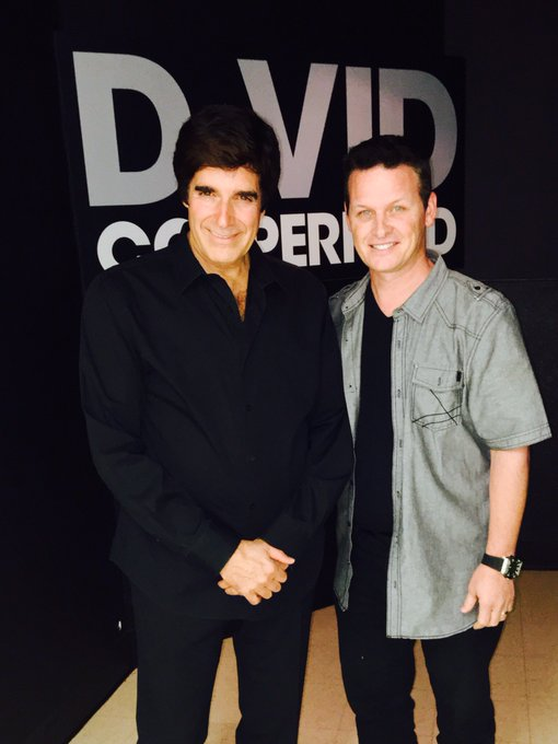 Happy Birthday to the greatest magician of all time David Copperfield !