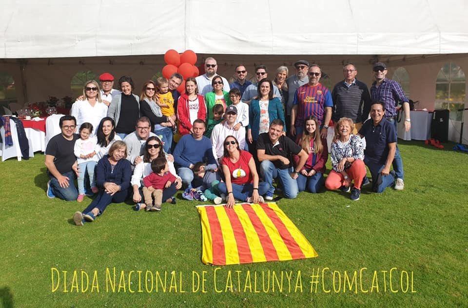 RT @latinosxRep: Celebración de La Diada de #Catalunya en Colombia 🇨🇴  #diada2019  #Colombia https://t.co/WGIhNRWzXo