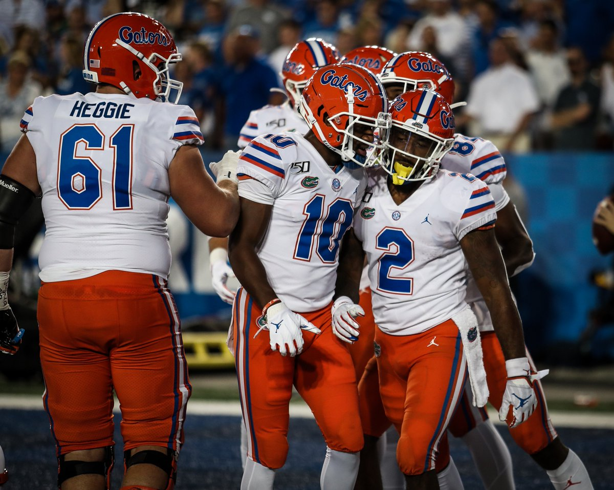 .@LP_deucedeuce knew the pitch was coming from @ktrask9, did you? #GatorStandard