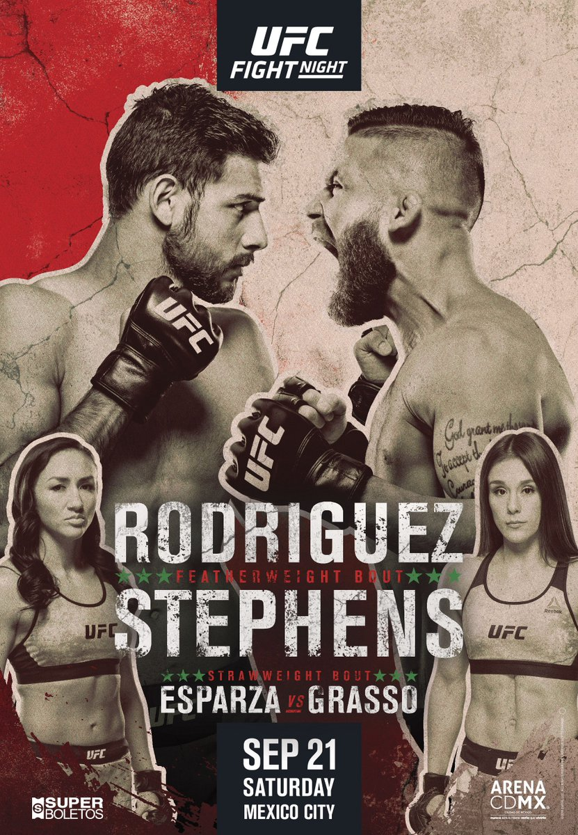 ¡Vamos!  🇲🇽 #UFCMexico fight week is underway!