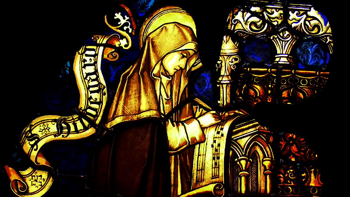 She was a radical Benedictine nun, a writer, composer, philosopher, Christian mystic, visionary, and polymath. The extraordinary Hildegard of Bingen was 81 when she died, on this day in 1179. Learn about her life and her transcendent music:  https:// bbc.in/2AsyKTm     #OTD <br>http://pic.twitter.com/MfgdUopA3c