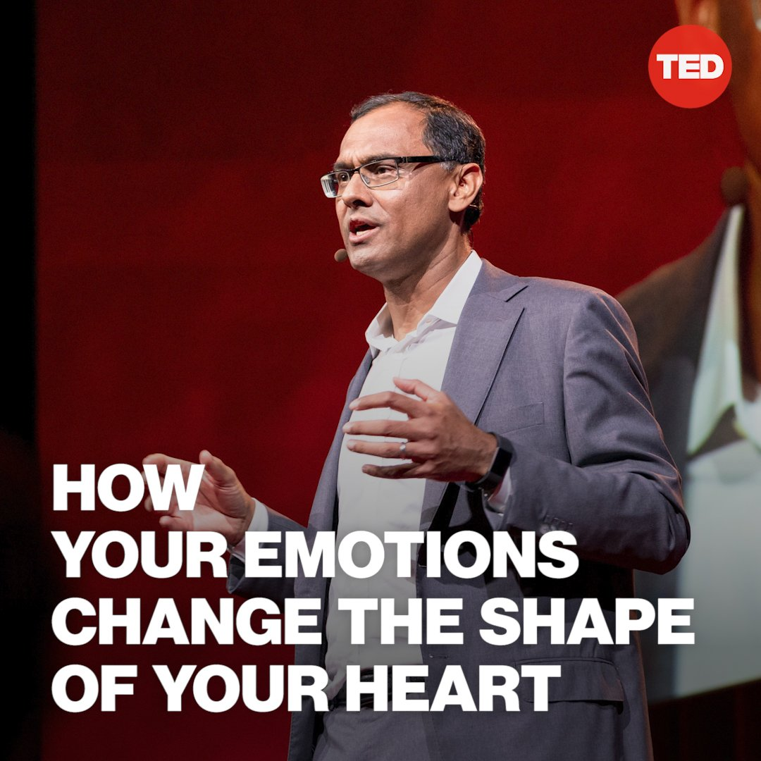 """""""Emotions have a direct, physical effect on the human heart.""""Watch Sandeep Jauhar's full TED Talk here: http://t.ted.com/Id3djWV"""