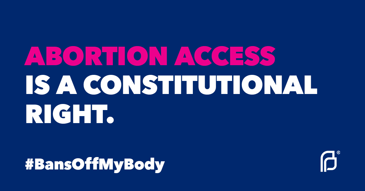 A reminder on #ConstitutionDay: abortion access is a constitutional right — and the overwhelming majority of Americans oppose overturning Roe v. Wade. Learn more about Roe, the case that affirmed that access to abortion is a constitutional right: ppact.io/2kOiXdv