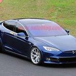 Image for the Tweet beginning: .@Tesla Model S shows signs