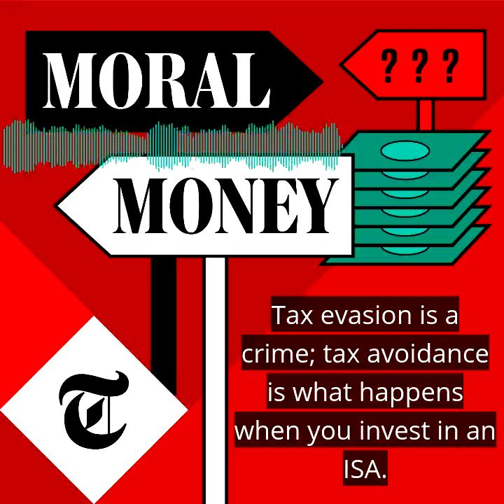 Tax avoidance is legal, but is it moral? In the latest #MoralMoney podcast, @Telegraph columnist Janet Daley advises a reader whose husband puts #property in her name to save on tax – listen on all good podcast apps and here: telegraph.co.uk/money/consumer…