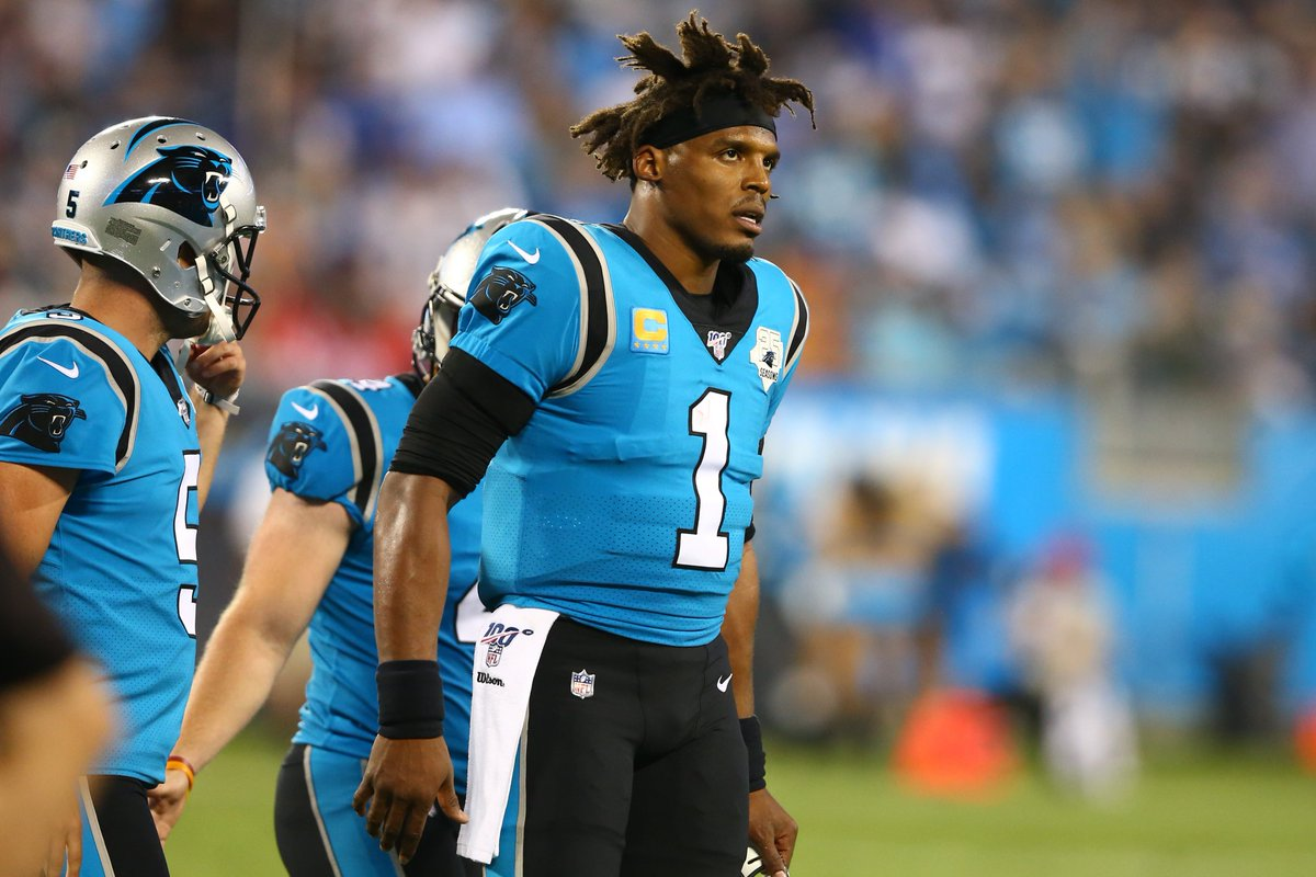 """Cam Newton's status for Week 3 is """"up in the air"""" as he aggravated a foot injury, per @RapSheet and @TomPelissero https://t.co/YTdqsZH4C1"""