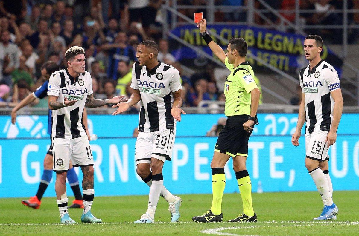 Mazzata sull'#Udinese: tre giornate di squalifica ...