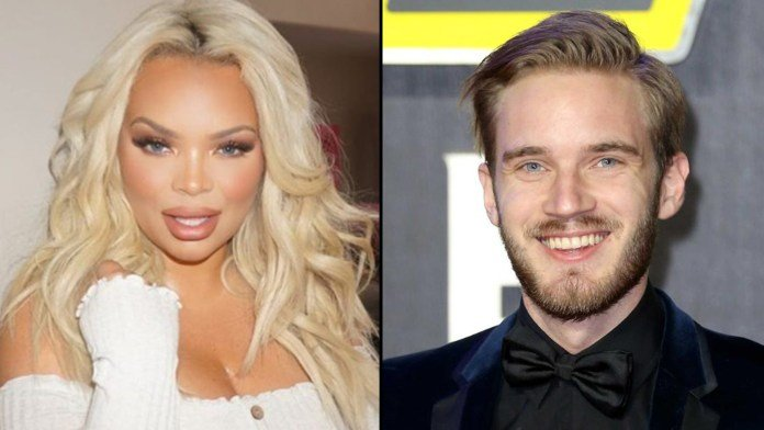 It seems like @trishapaytas had a LOT to say about PewDiePie 👀  👉https://t.co/AbZpyZIw7q | #Youtube #PewDiePie https://t.co/sYMwfHHmiV