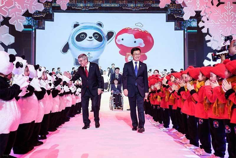 test Twitter Media - .@Beijing2022 Introduces Panda And Lantern Child As #Olympic And #Paralympic Mascots #BingDwenDwen #ShueyRhonRhon https://t.co/pM6EfKXm8R https://t.co/9KVNrQvp8z