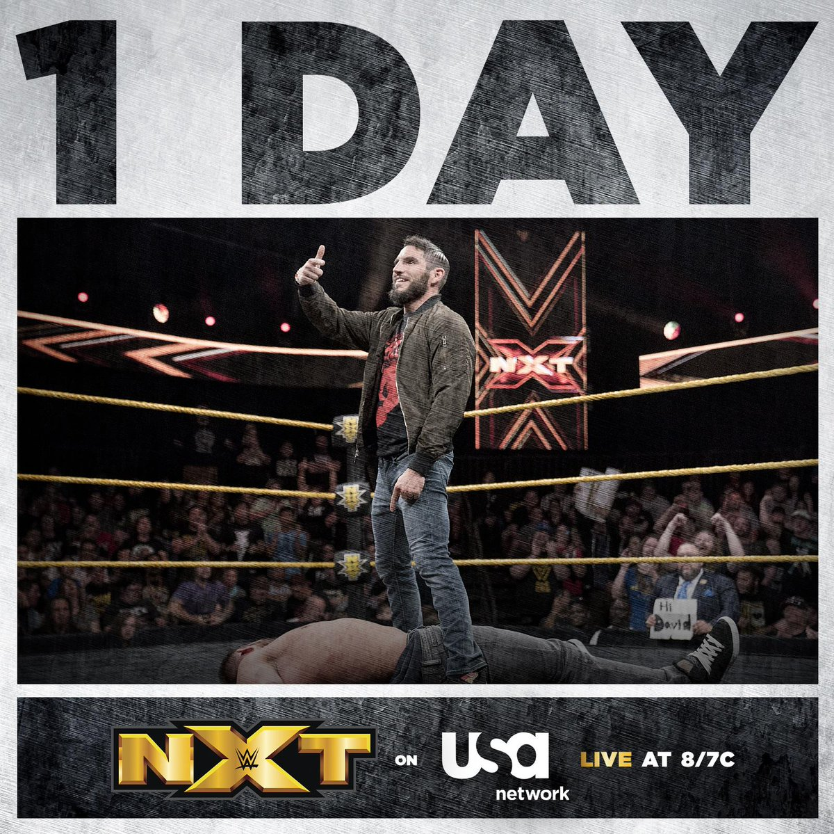 🚨1 MORE DAY! 🚨#WWENXT's LIVE 2-hour premiere is almost here!