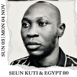 SEUN KUTI & EGYPT 80 // SUN 03 & MON 04 NOV  @RealSeunKuti youngest son of legendary Afrobeat godfather Fela Kuti, & Egypt 80 are excited to bring their new project to VU this November.  More info and tickets → https://t.co/0ifcEoJzaC