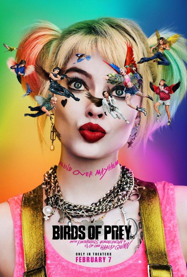 Brand New Poster has been released for #BirdsofPrey via @birdsofpreywb #MindOverMayhem
