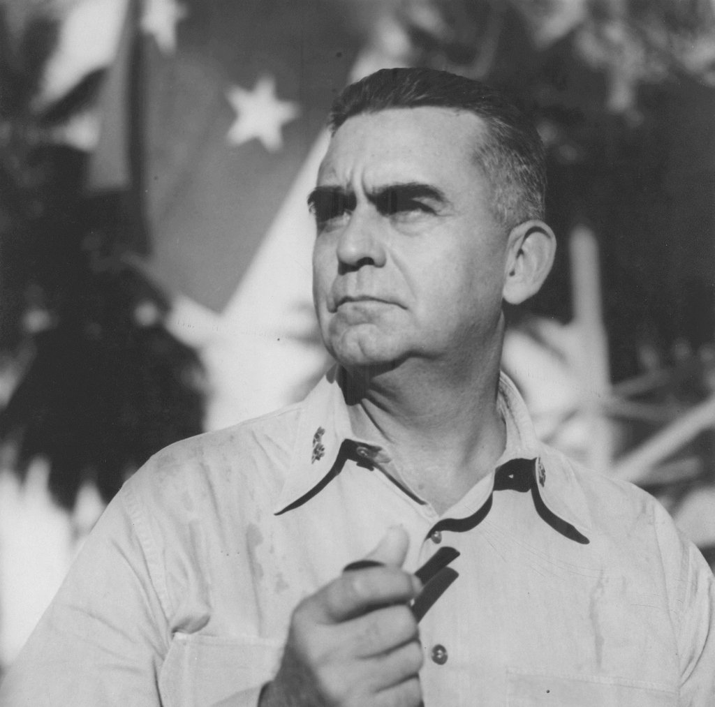 Born August 1893 in Puerto Rico, General Pedro A. del Valle was awarded the Distinguished Service Medal for his outstanding leadership as Commanding General of the First Marine Division, during the attack and occupation of Okinawa during World War II. #HispanicHeritageMonth
