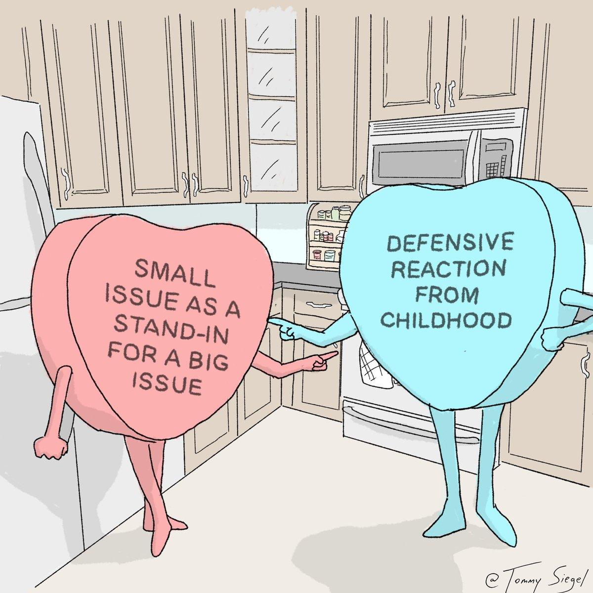 Some candy hearts comics I drew, a thread: