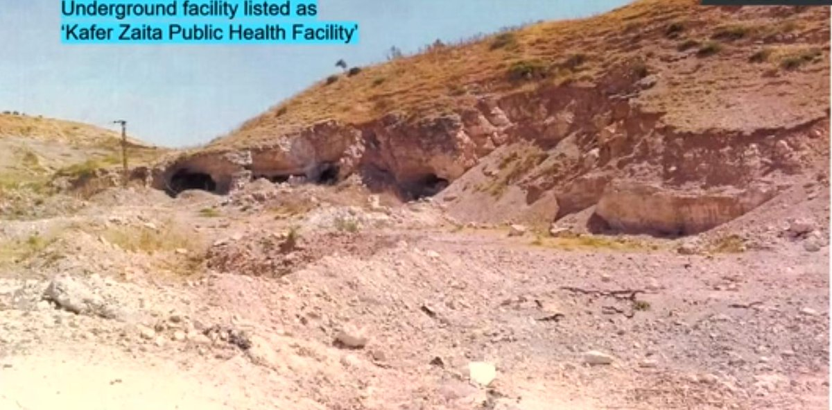 """Real #Idlib hospital photos shown at #UNSC: allegations of bombings of medical facilities are outright disinformation, with false coordinates given and sites like weapon or supply caches presented as """"destroyed hospitals"""". #Nebenzia<br>http://pic.twitter.com/aBcikW1hhb"""