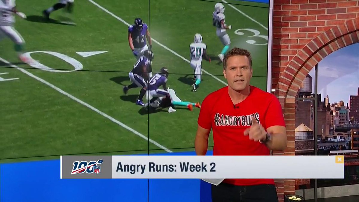"""""""JOSH ALLEN IS A BAD BAD BUFFALO BILL!""""  RT to vote @JoshAllenQB for @GMFB Angry Run of the Week. 😤 https://t.co/JKXtioKBZV"""