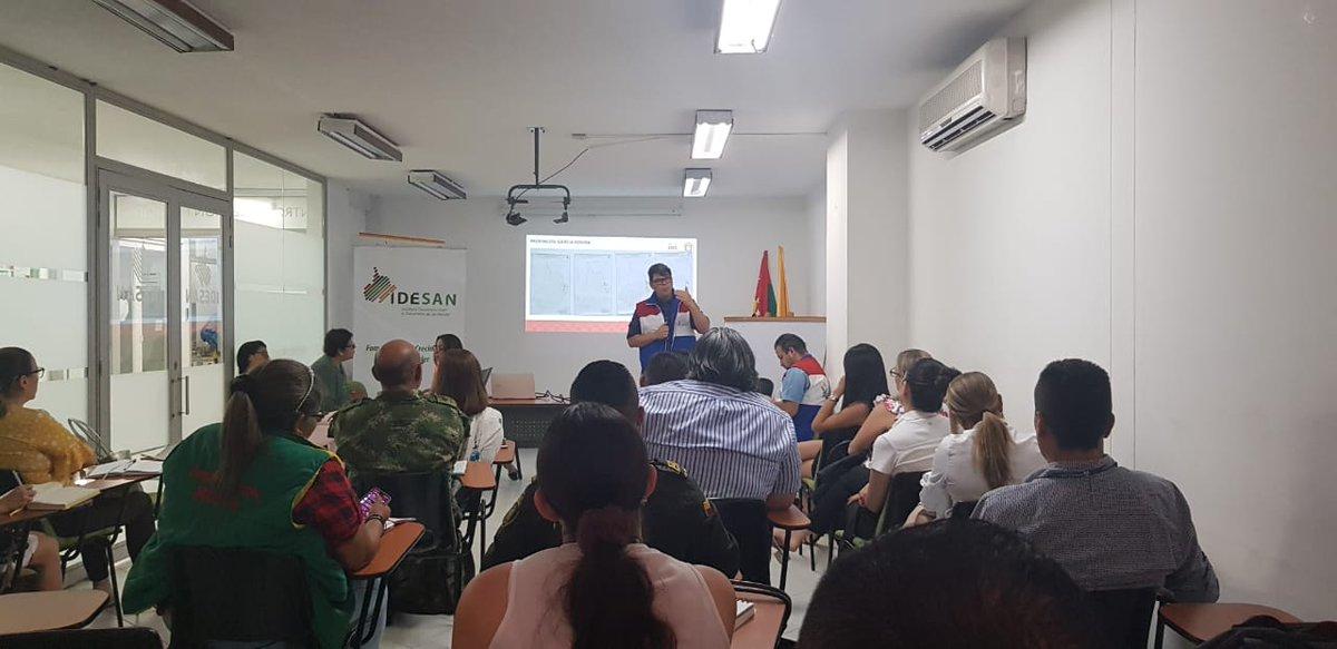 #AEstaHora| Se lleva a cabo el Subcomité de Prevención y  Protección Departamental en Santander, para revisar los casos de amenazas, atención de compromisos institucionales y la socialización de avances del tablero PAT.