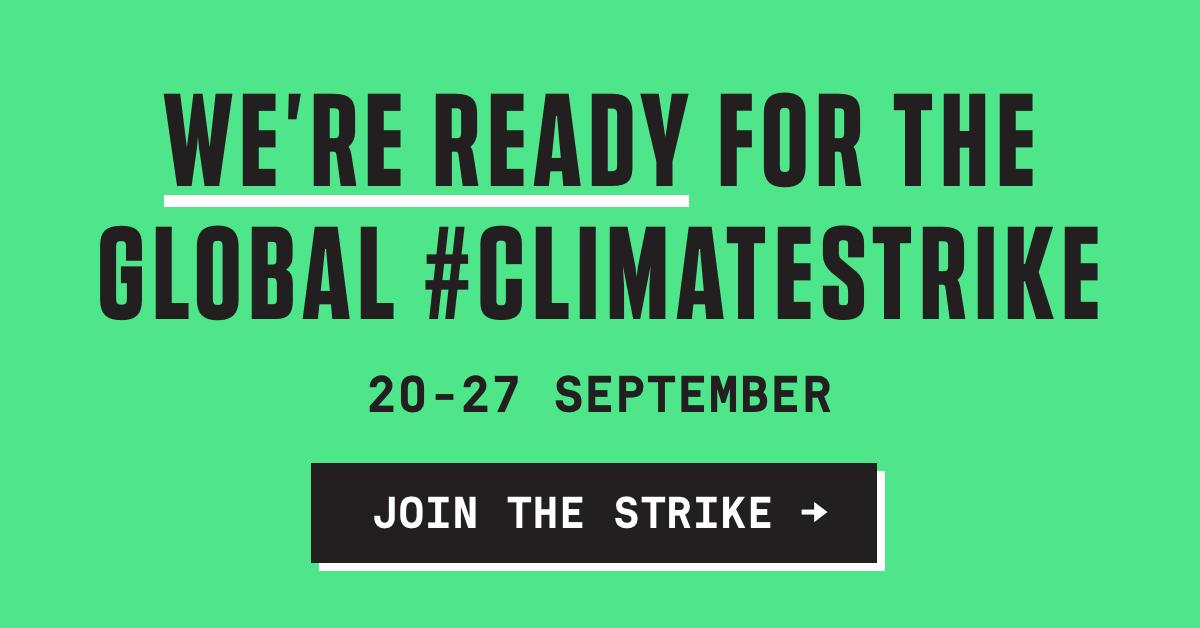 Both my site and @naconf will be closed for the #ClimateStrike on Friday. Ill also be joining the strike in Nottinghams old market square, 11am. If possible, prepare your site, and locate your nearest protest. digital.globalclimatestrike.net