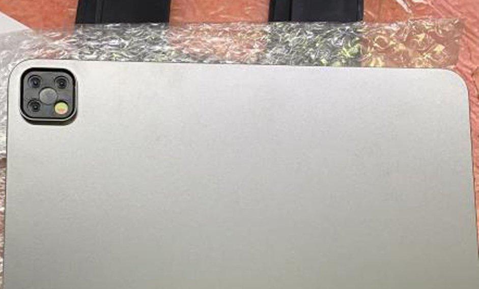 El nuevoiPad Pro tendría tres cámaras según una supuesta filtración
