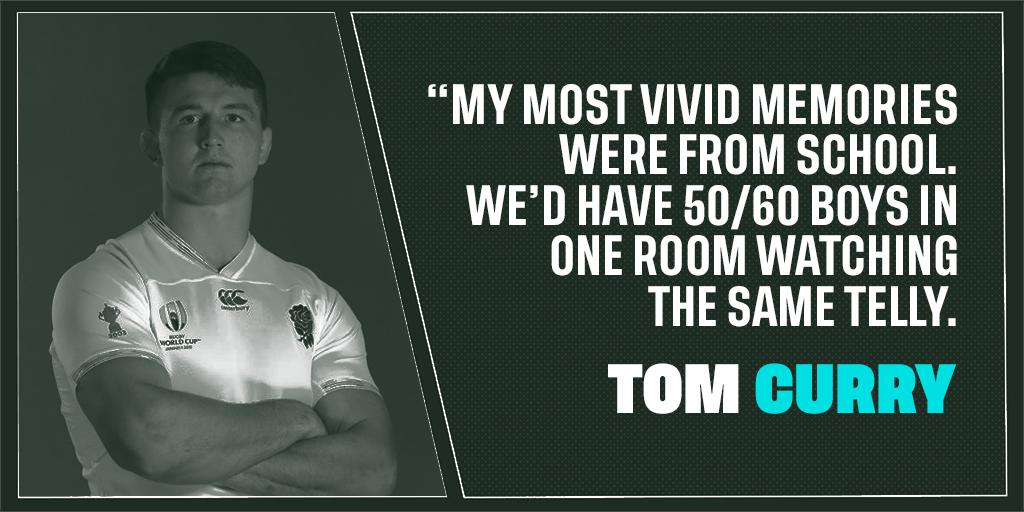 test Twitter Media - 2015: watching on TV at school  2019: playing for England  England flanker @TomCurry98 reflects on the remarkable rise from schoolboy prodigy to England flanker: https://t.co/yxu8jcTxb8 https://t.co/02Wo8y5m24