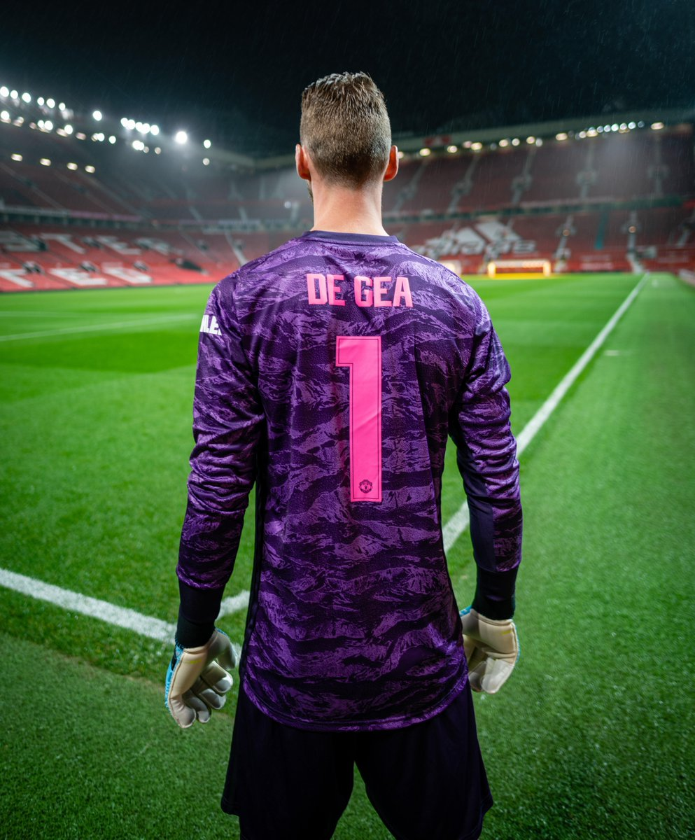 Our number 1️⃣ 👐  @D_DeGea #MUFC