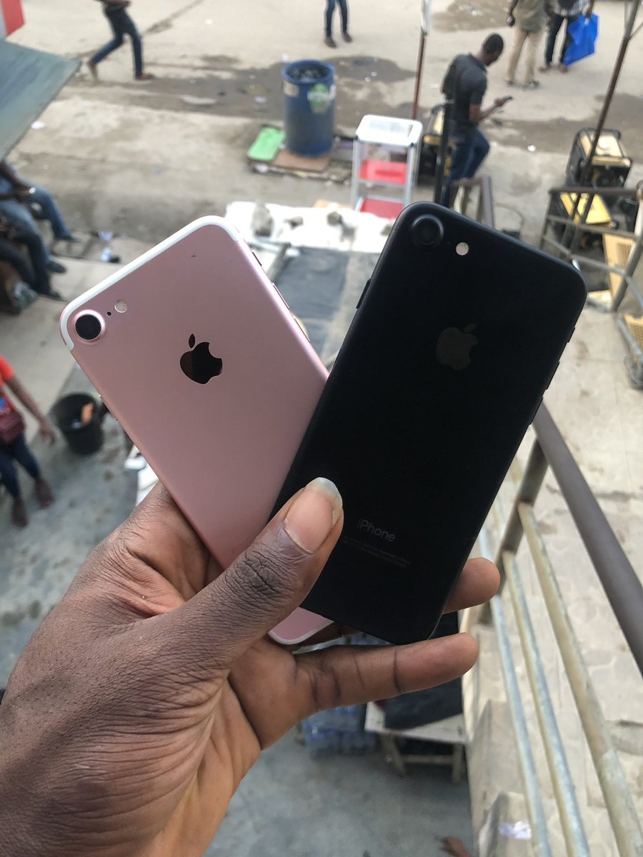 Fresh like new UK used Apple iPhone 7 is currently available.  PRICE: 32gb  is N75,000 128gb  is N90,000  08169698791 08076460107  Buy QUALITY at very discounted rates  #qualitygadgetshub<br>http://pic.twitter.com/i8QWA8hDpB