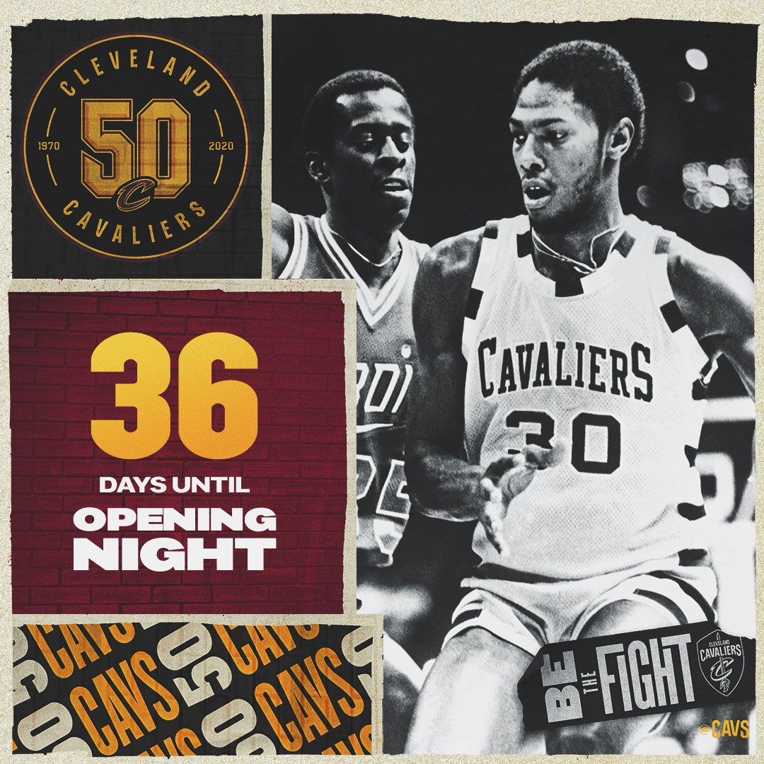 The Mike Mitchell-led 1979-80 squad holds the franchise record with 3⃣6⃣ consecutive games scoring at least 💯 points. #Cavs50