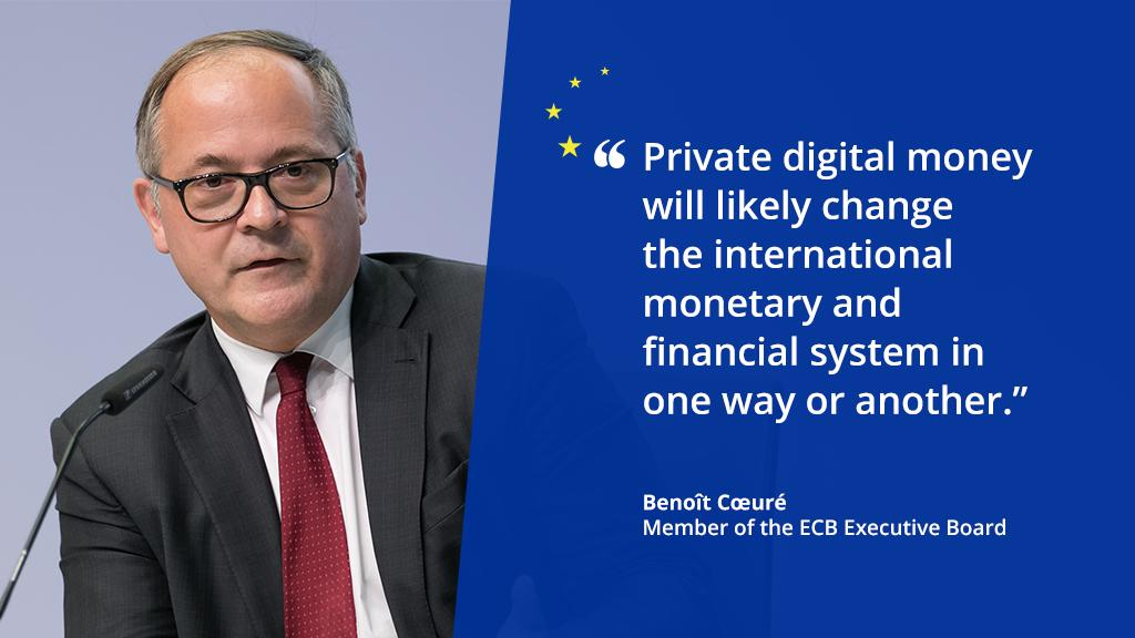 (THREAD) In his speech at the Banque Centrale du Luxembourg-Toulouse School of Economics conference, Benoît Cœuré spoke about how digitalisation may change the future of the international financial system. Read on for more. 1/8