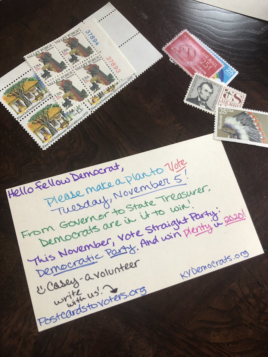My 500th #PostcardsToVoters!